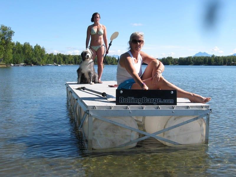 Floating Docks - RollingBarge com