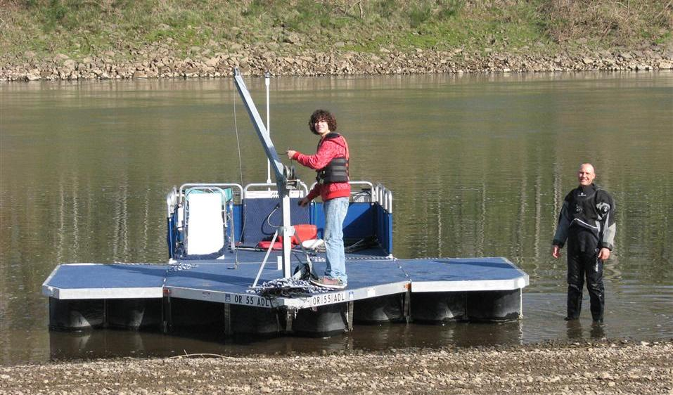 Portable Utility Barge