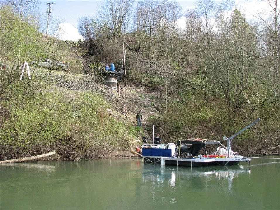 Small River Barge