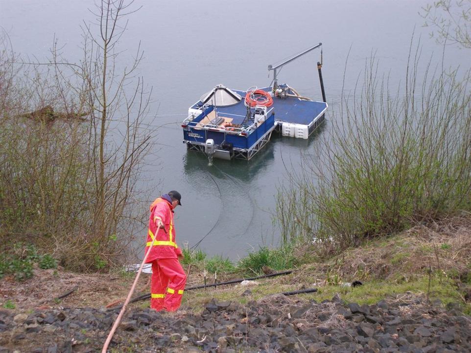 Inexpensive Work Barge