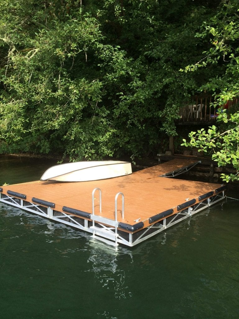 New Floating Dock System
