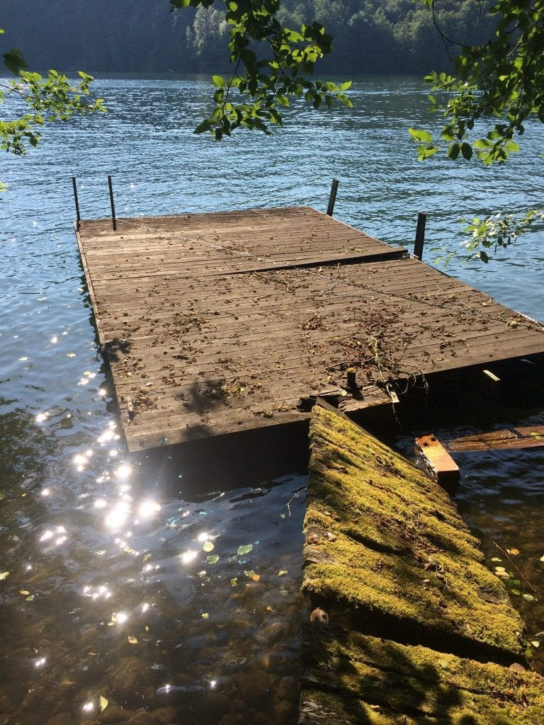 Old Floating Dock Needs Replacement