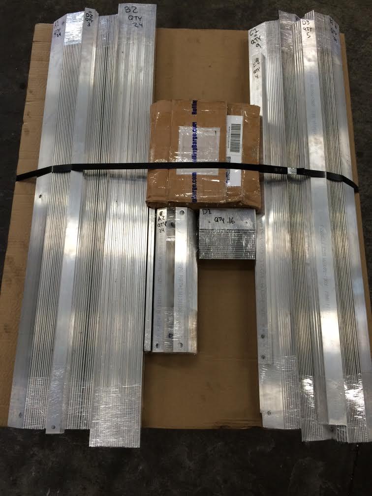 Rolling Barge Shipment
