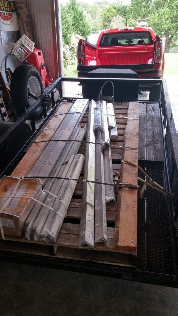 Gangway Kit Parts