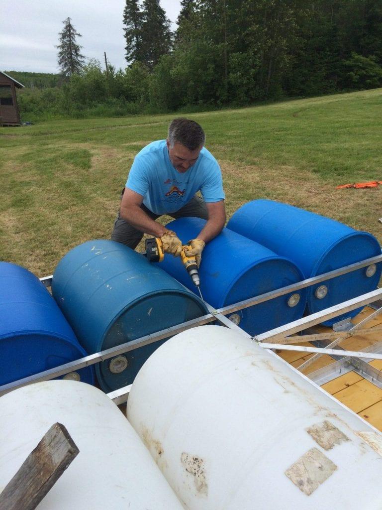 55 Gallon Barrel Dock Floats