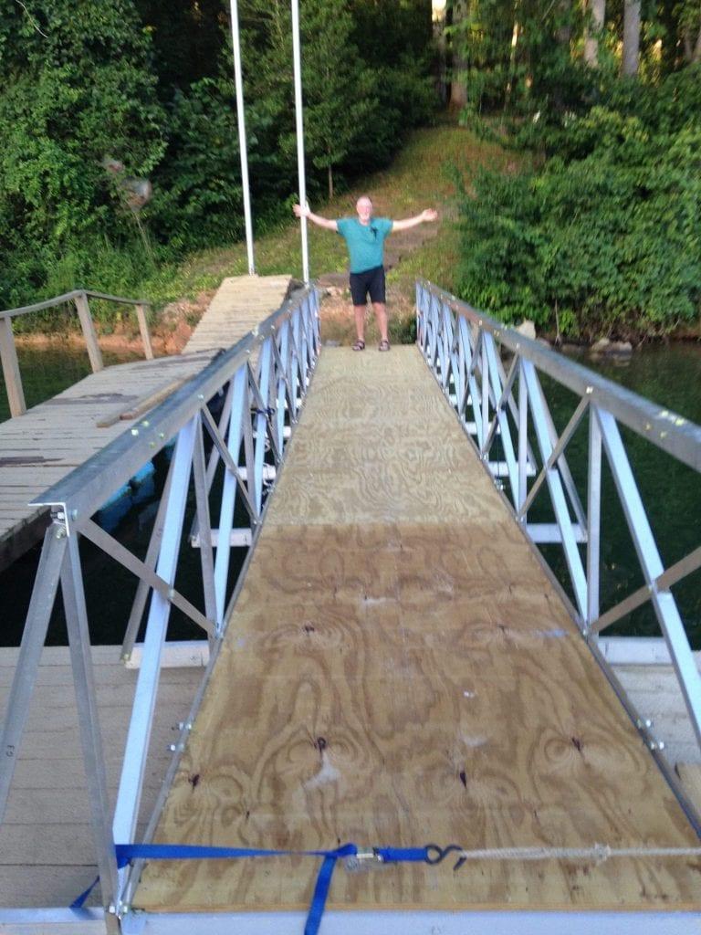 Successful Gangway Installation