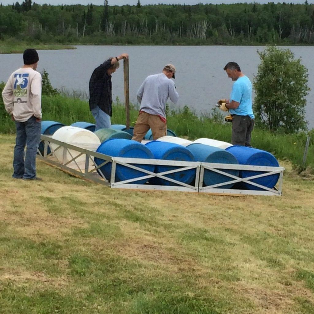 Floating Dock Pre Launch