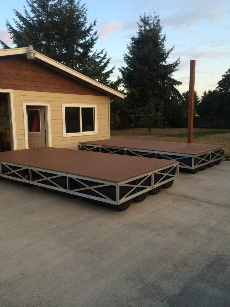 8x16 Floating Dock Sections