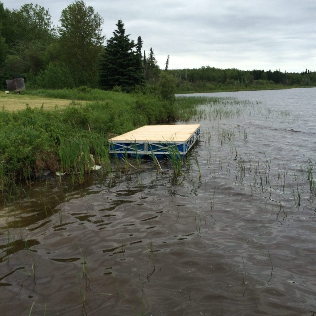 8x16 Floating Dock