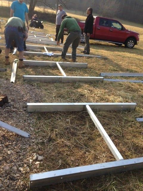 ATV Bridge Aluminum Cross Members