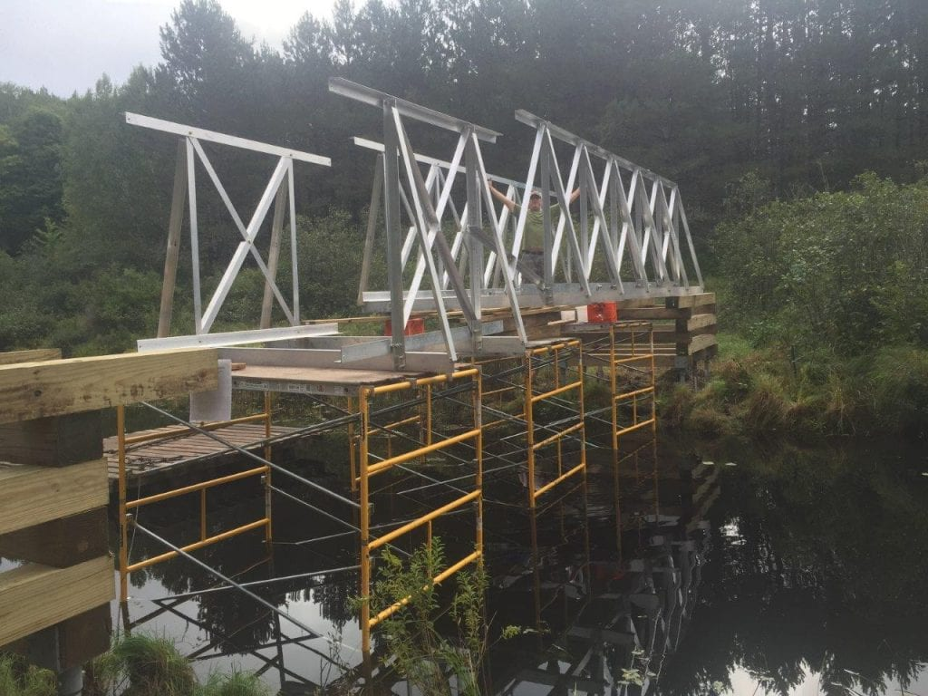 ATV Bridge Installation