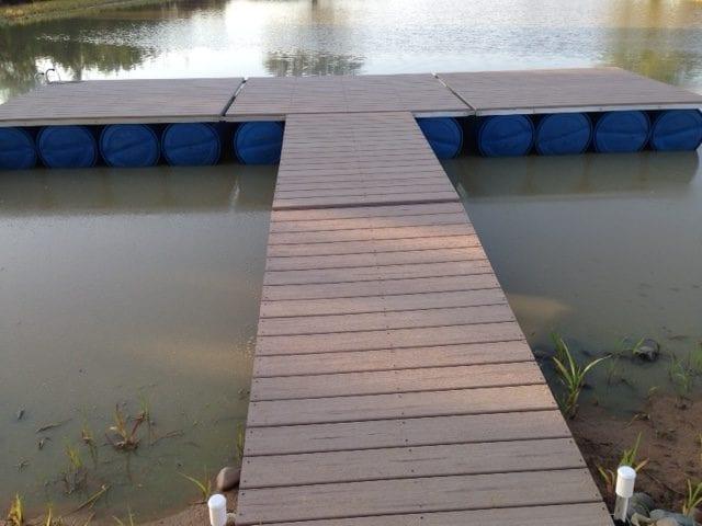 Channel Dock in Kansas