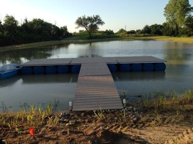 T Shaped Channel Dock