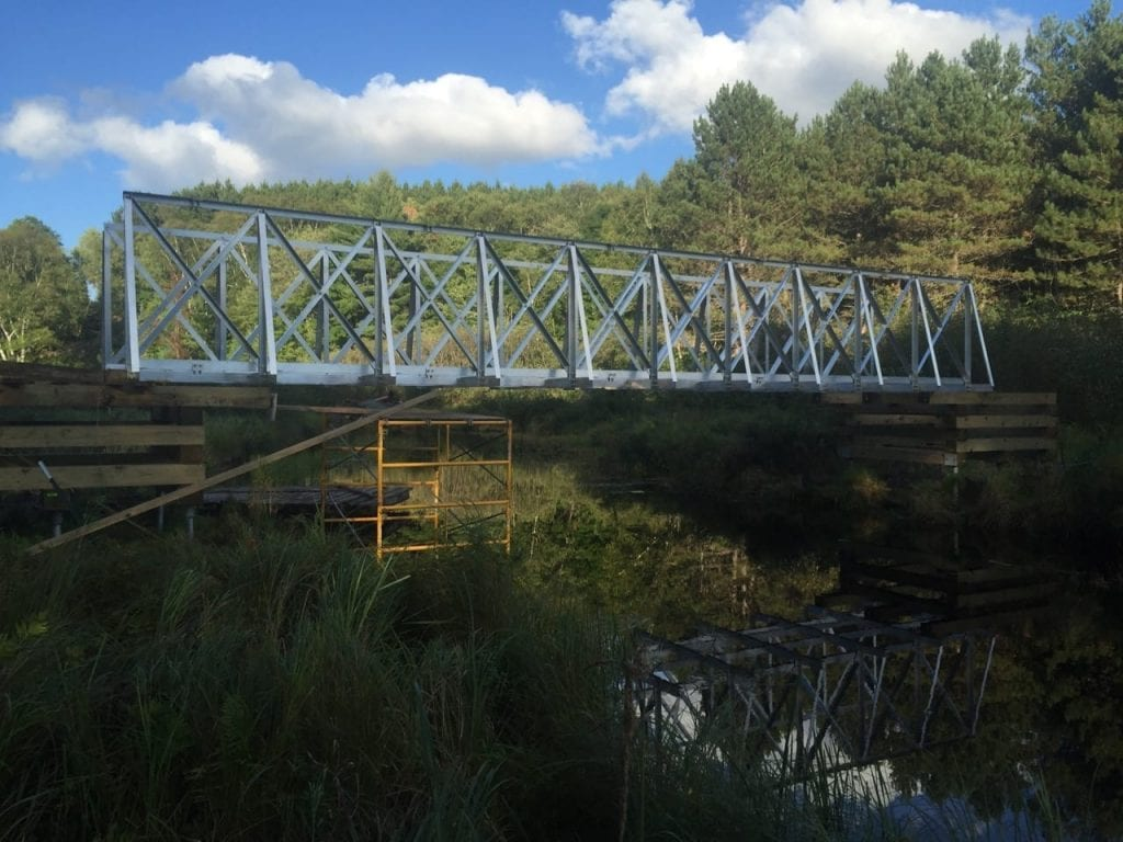 Wisconsin ATV Bridge Project