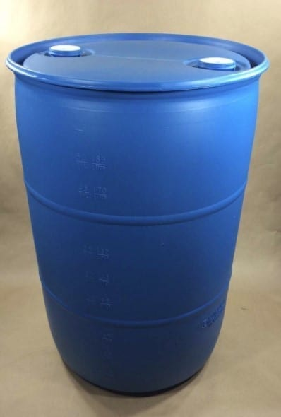 blue barrel for floating dock