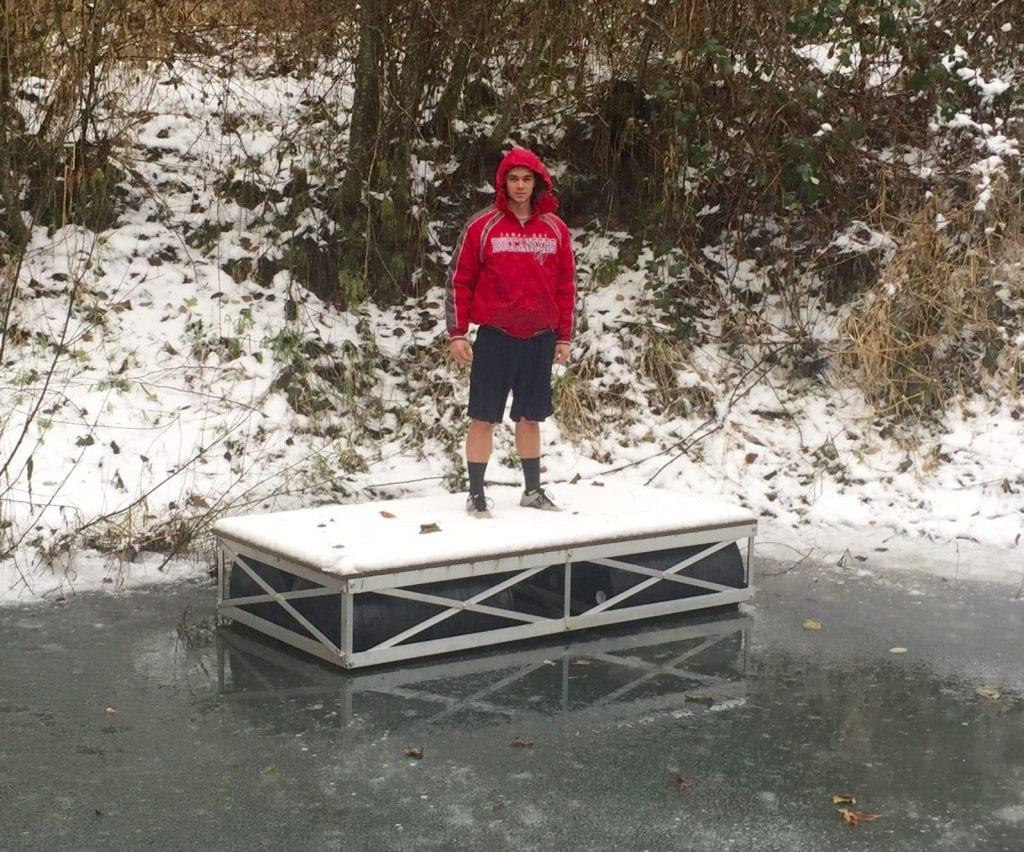 freeze proof truss dock