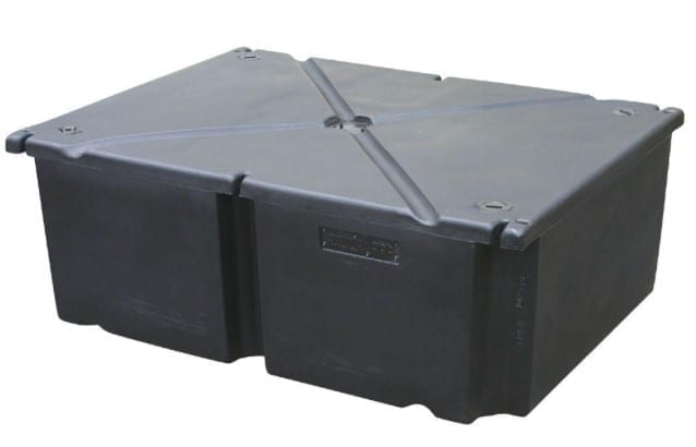 rectangular floating dock float